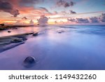 long expose seascape with... | Shutterstock . vector #1149432260