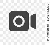 video vector icon on...   Shutterstock .eps vector #1149433310