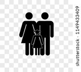 mother father and daughter... | Shutterstock .eps vector #1149433409