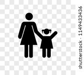 mother with daughter vector... | Shutterstock .eps vector #1149433436
