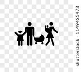 family group of a couple with... | Shutterstock .eps vector #1149435473