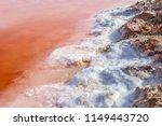 magnesium bathing pool. shore... | Shutterstock . vector #1149443720