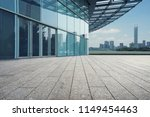 empty square and modern... | Shutterstock . vector #1149454463