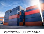 container yard for logistic ...