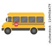 school bus isolated on white...   Shutterstock .eps vector #1149456479