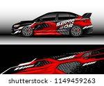 car wrap design vector  truck... | Shutterstock .eps vector #1149459263