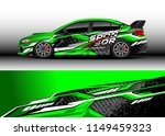car wrap design vector  truck... | Shutterstock .eps vector #1149459323