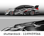 car wrap design vector  truck... | Shutterstock .eps vector #1149459566