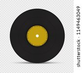 realistic 3d black vinyl record ...   Shutterstock .eps vector #1149463049