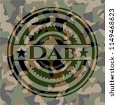 dab on camo pattern | Shutterstock .eps vector #1149468623
