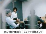 african business woman... | Shutterstock . vector #1149486509