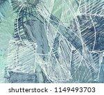 contemporary art. hand made art.... | Shutterstock . vector #1149493703