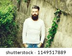 handsome young stylish hipster... | Shutterstock . vector #1149517889