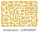 set of details pipes different...   Shutterstock .eps vector #1149545039