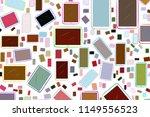 abstract handphone or... | Shutterstock .eps vector #1149556523