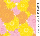 seamless pattern colorful... | Shutterstock .eps vector #1149564929