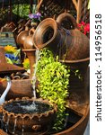 Pot Garden Fountain.