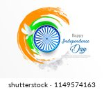 happy independence day india ... | Shutterstock .eps vector #1149574163