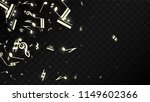 miracle musical notes on black...   Shutterstock .eps vector #1149602366