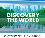 landscape view of green natural ...   Shutterstock .eps vector #1149608000