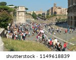 rome. italy. august  5th  2018... | Shutterstock . vector #1149618839