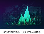 stock market or forex trading... | Shutterstock . vector #1149628856