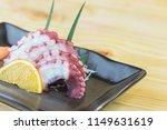 tako sushi   sushi nigiri  tako ... | Shutterstock . vector #1149631619