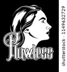 flawless. vector hand drawn... | Shutterstock .eps vector #1149632729