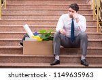 young businessman on the street ... | Shutterstock . vector #1149635963