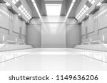 futuristic tunnel with light.... | Shutterstock . vector #1149636206