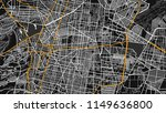 black white map city mexico | Shutterstock .eps vector #1149636800