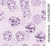 seamless abstract pattern... | Shutterstock .eps vector #1149638189