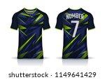 t shirt sport design template ... | Shutterstock .eps vector #1149641429