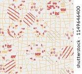 seamless abstract pattern... | Shutterstock .eps vector #1149646400