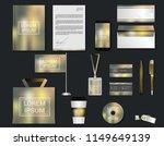 digital modern design set in... | Shutterstock .eps vector #1149649139