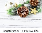 decoration for christmas on the ...   Shutterstock . vector #1149662123