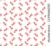 seamless pattern kiss on the... | Shutterstock .eps vector #1149666050