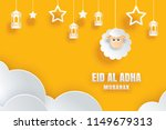 eid al adha mubarak celebration ...   Shutterstock .eps vector #1149679313