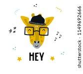 hey   cute hand drawn nursery...   Shutterstock .eps vector #1149692666