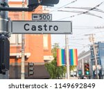 castro street sign  commonly... | Shutterstock . vector #1149692849