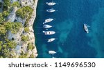 yachts at the sea in france.... | Shutterstock . vector #1149696530