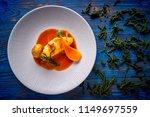 monkfish rape recipe with... | Shutterstock . vector #1149697559