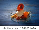 modern cuisine ice cream... | Shutterstock . vector #1149697616