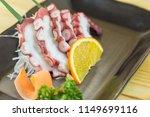 tako sushi   sushi nigiri  tako ... | Shutterstock . vector #1149699116