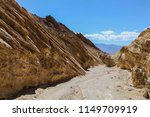 golden canyon trail in death... | Shutterstock . vector #1149709919