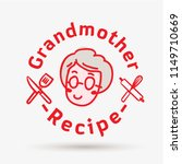 grandmother recipe logo... | Shutterstock .eps vector #1149710669