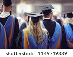 graduates at university... | Shutterstock . vector #1149719339