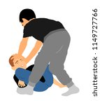 two boys fighting vector...   Shutterstock .eps vector #1149727766