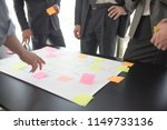 business people team developing ... | Shutterstock . vector #1149733136