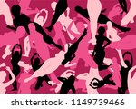 vector of pink seamless sexy... | Shutterstock .eps vector #1149739466